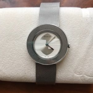 Women's Gucci Stainless Steel Silver Watch